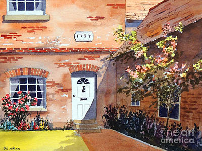 Light And Dark Painting - Cottage At Beaconsfield Village by Bill Holkham
