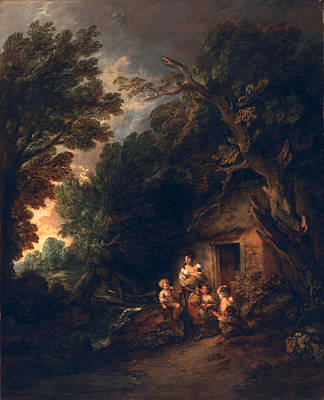 Ramshackle Painting - Cottage Door, C.1780 by Thomas Gainsborough