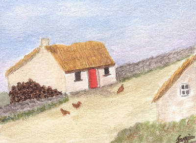 Cottage In The West Original by Tis Art