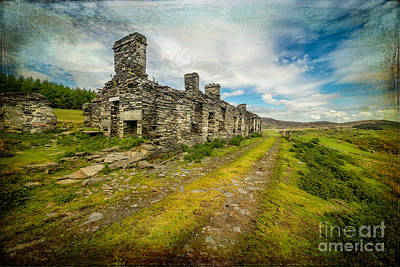 Barracks Photograph - Cottage Ruins by Adrian Evans