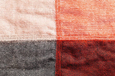 Fabric Quilt Photograph - Cotton Background by Tom Gowanlock