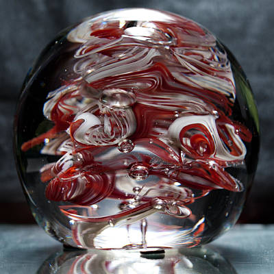 Abstraction Sculpture - Cougar Spirit Glass by David Patterson