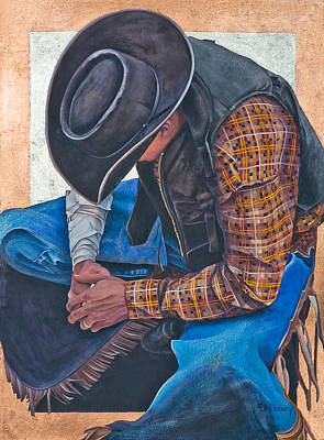 Chaps Painting - Countin' My Blessings by JK Dooley