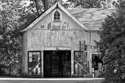 Country - Barn Country Maintenance Print by Mike Savad