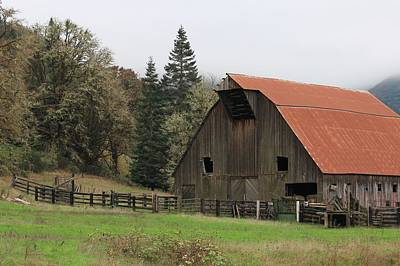 Country Barn Print by Katie Wing Vigil