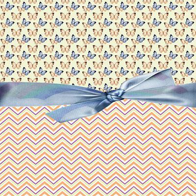 Butterfly Digital Art - Country Butterflies by Debra  Miller