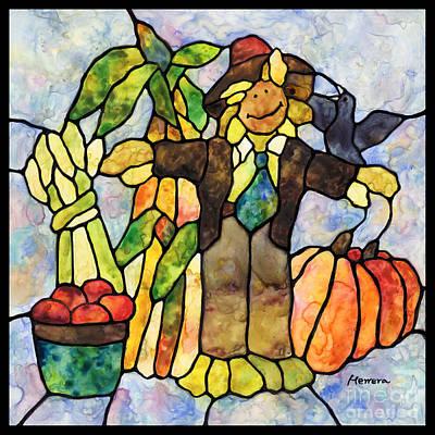 Country Fall Original by Hailey E Herrera