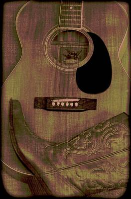 Cowgirl Mixed Media - Country Music by Dan Sproul