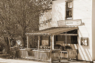Country Restaurant Print by Kirt Tisdale