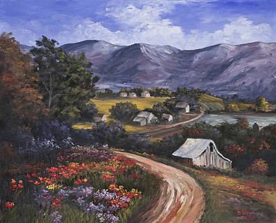 Country Road Print by Darice Machel McGuire