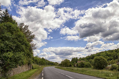 Country Roads Print by Georgia Fowler