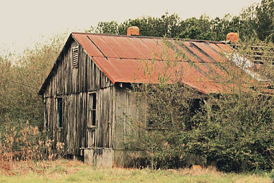 Shed Photograph - Country Shed by Steven Newsom
