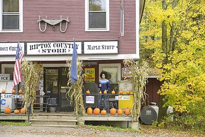 Vermont Country Store Photograph - Country Store by Christian Heeb