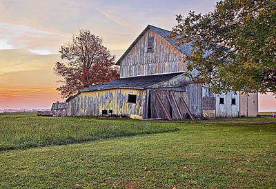 Barns Photograph - Country Sunrise by Marcia Colelli