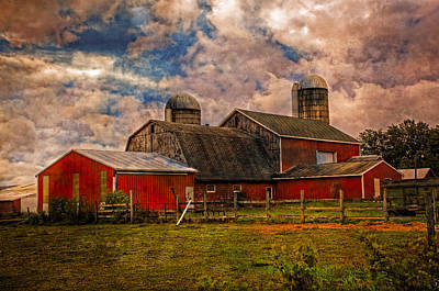 Old Country Roads Photograph - Countryside by Debra and Dave Vanderlaan