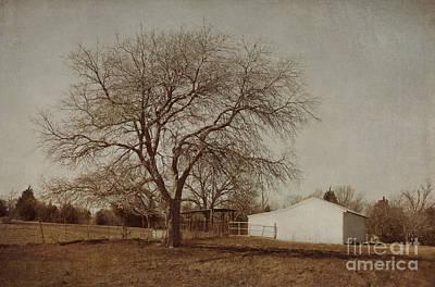 Barns Digital Art - Countryside by Elena Nosyreva