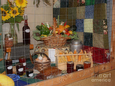 Home Made Quilts Photograph - County Fair Prize 1 by Smilin Eyes  Treasures