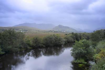 Mist Photograph - County Mayo by Hugh Smith