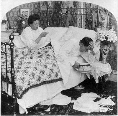 Suffrage Painting - Couple In Bed, C1907 by Granger