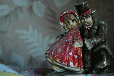 Red Riding Hood Mixed Media - Couple by Mark Zelmer