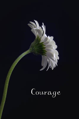 Courage Print by Kim Andelkovic