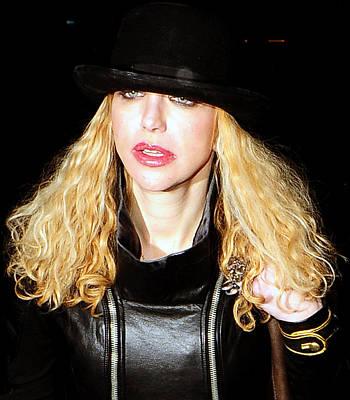 Celebrity Photograph - Courtney Love by Paul Sutcliffe