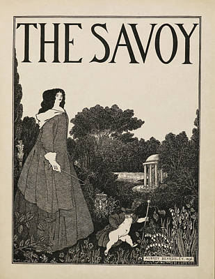 Famous Book Photograph - Cover Design For No.1 Of The Savoy by British Library