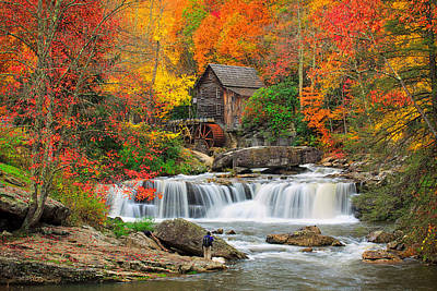 Grist Mill Photograph - Cover In Color  by Emmanuel Panagiotakis