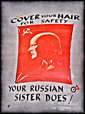 Affiche Photograph - Cover Your Hair by Nina Ficur Feenan