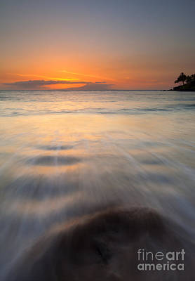 Maui Photograph - Covered By The Tides by Mike  Dawson