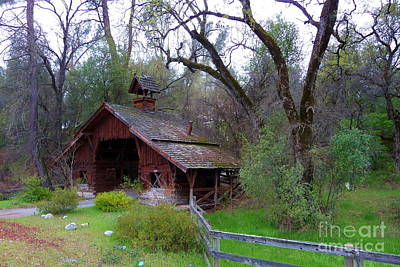 Covered Bridge Photograph - Covered Driveway 1 by Joshua Greeson