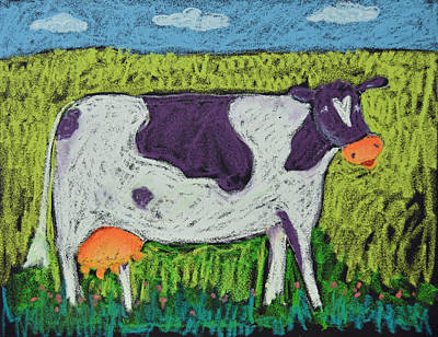 Pastel - Cow by Pat Olson