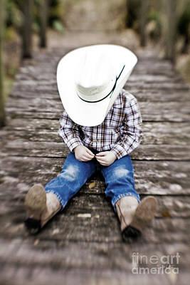 South Louisiana Photograph - Cowboy by Scott Pellegrin