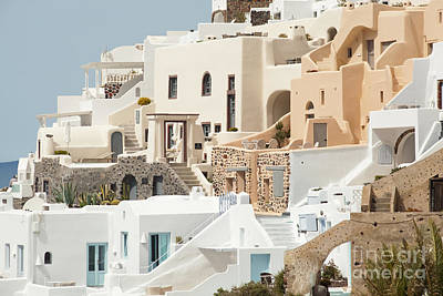 Vacances Photograph - Cozy Hotels by Aiolos Greek Collections