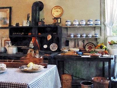 Tea Photograph - Cozy Kitchen by Susan Savad