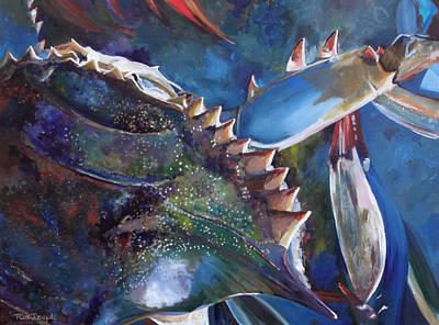 Crabalicious Print by Terry Cox Joseph
