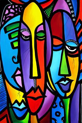 Abstract Pop Drawing - Cranium by Tom Fedro - Fidostudio