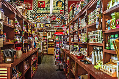 Crawley General Store Print by Tamyra Ayles