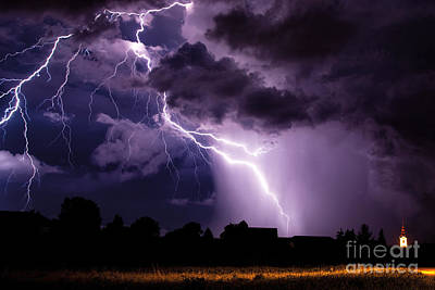 Crazy Lightning Original by Marko Korosec