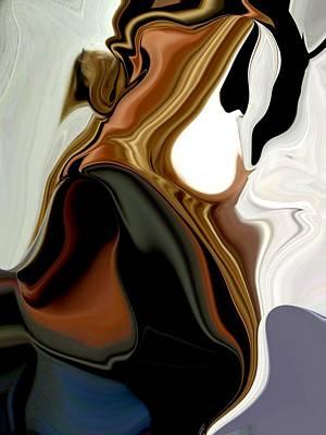 Etc. Mixed Media - Creamy by HollyWood Creation By linda zanini