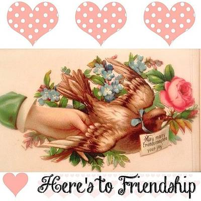 Flower Photograph - Created This #friendship Image From A by Teresa Mucha