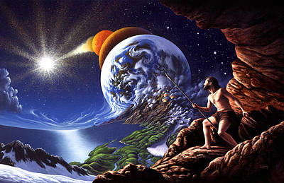 Earth Painting - Creation by Jerry LoFaro