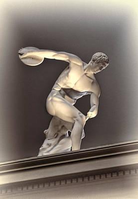Creative Sculpture Of Olympic Athlete Original by Linda Phelps