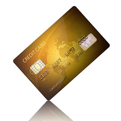 Finance Photograph - Credit Card by Johan Swanepoel