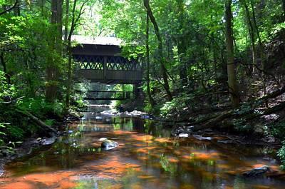 Creek Bridge Print by Bob Jackson