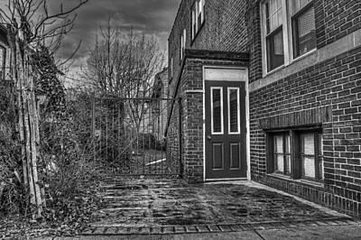 Creepy Gate Original by Tim Buisman