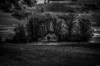 Haunted House Photograph - Creepy House Two by Derek Haller