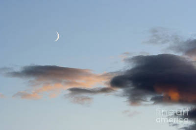 Crescent Of The Moon Print by Michal Boubin