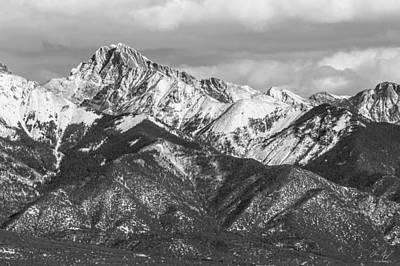 Crestone Photograph - Crestone Peak  by Aaron Spong