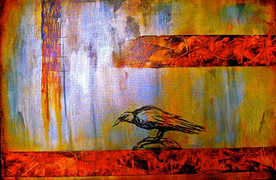 Cria Cuervos Print by Thelma Zambrano